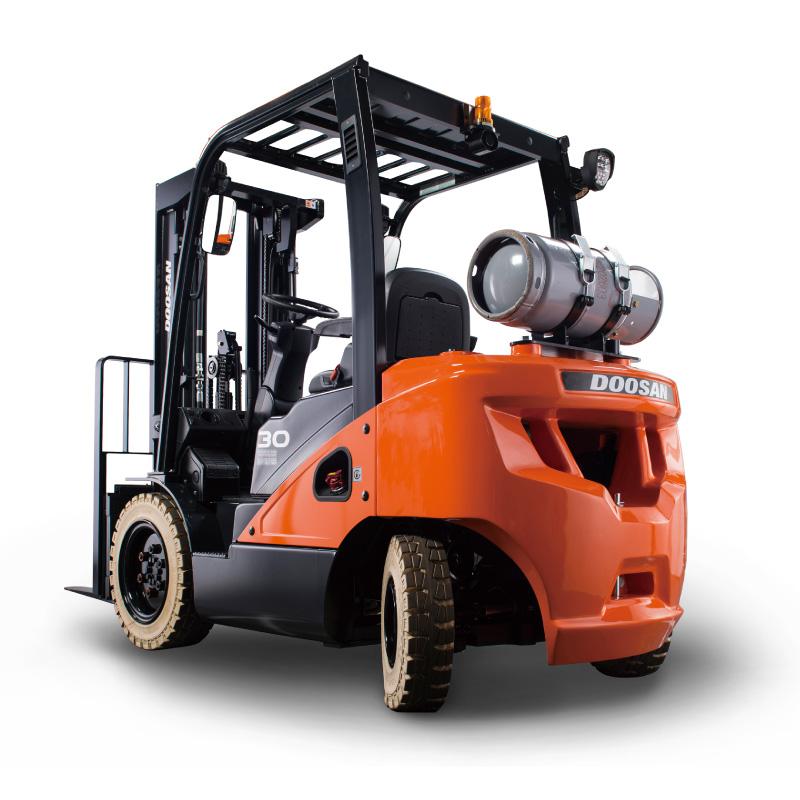Gas Forklift Trucks - 2.0 t – 3.5 t – 7 Series
