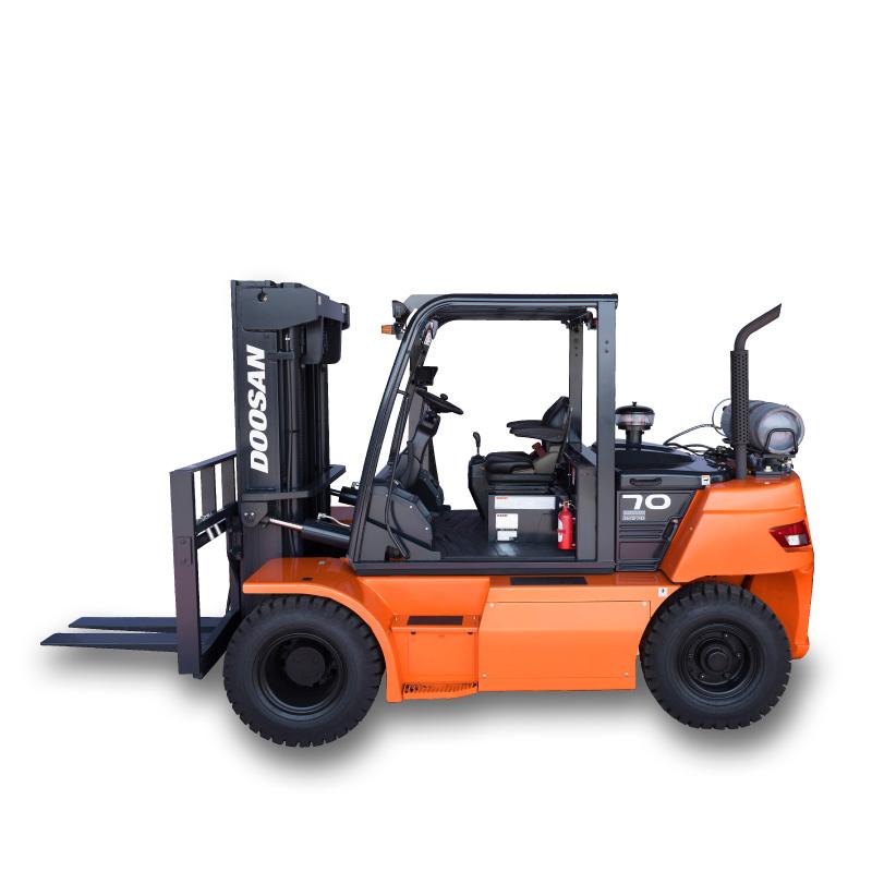 Gas Forklift Trucks - LPG Forklift (6 to 7 ton)