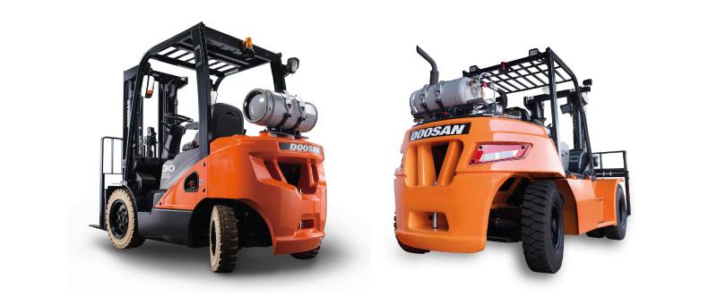 Gas Forklift Trucks