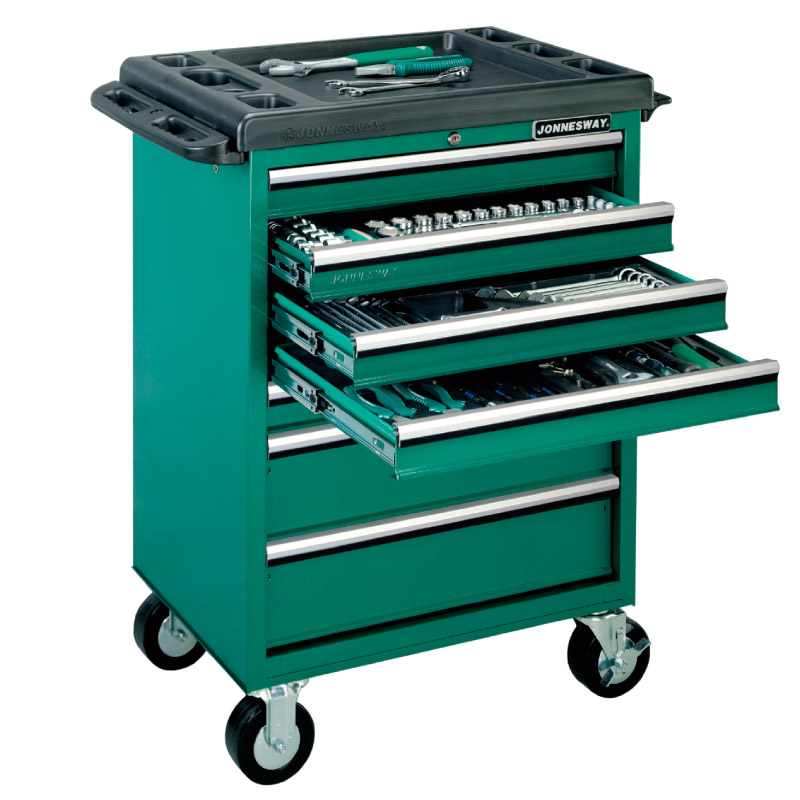 Professional Tools - Trolleys, Cabinets and Compositions