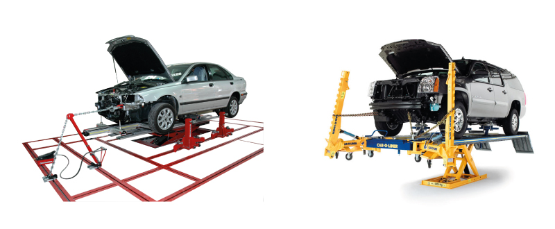 Garage Equipment - Body Repair Benches