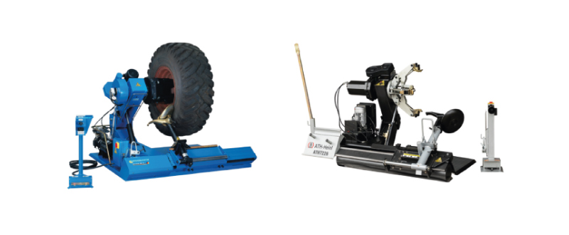 Tires – Trucks - Tire Changers