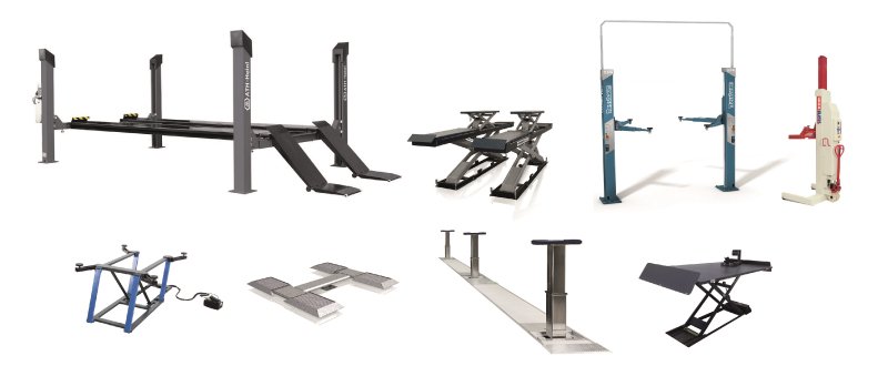 Garage Equipment - Car Lifts