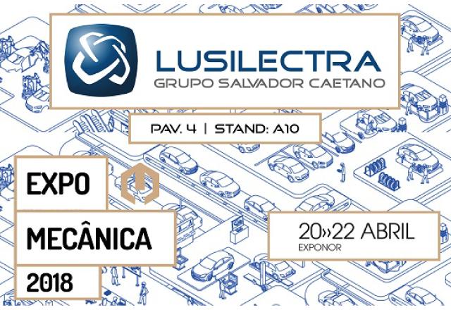 Lusilectra Marcou Presença na Expomecânica 2018