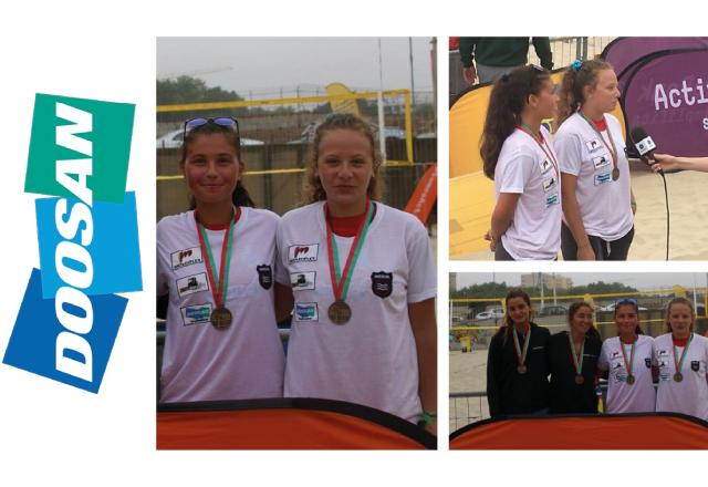 Doosan no Campeonato Nacional de Gira-Praia 2018